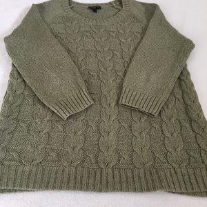 Talbots Sage Green Sweater